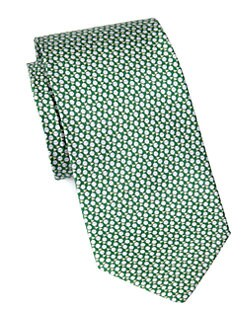 Salvatore Ferragamo - Golf Print Silk Tie