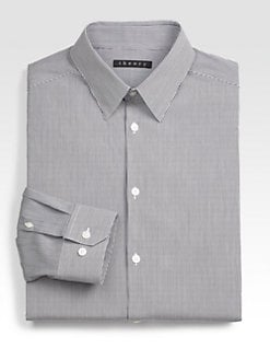 Theory - Luxe Mini Stripe Dress Shirt