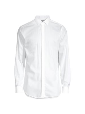 Slim-Fit Dover Tux Dress Shirt