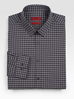Hugo - Everett Plaid Dress Shirt
