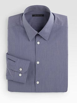 Theory - Micro Stripe Dress Shirt