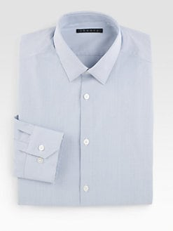 Theory - Dover Point Striped Dress Shirt