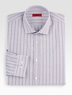 Hugo - Mini-Checked Dress Shirt