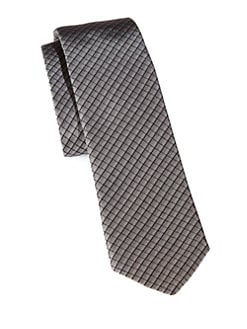 Hugo - Check Silk Tie