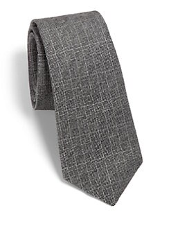 Theory - Roadster Linen-Silk Tie