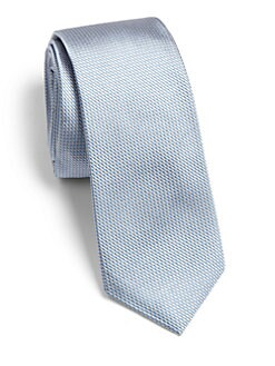 Theory - Roadster Solid Silk Tie