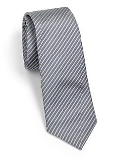 Theory - Roadster Striped Silk Tie