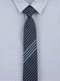 Hugo - Striped Silk Tie