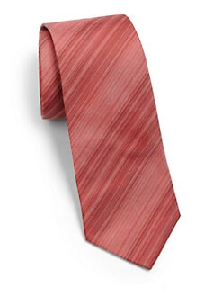 Hugo Boss - Diagonal Striped Silk Tie