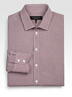 Rag & Bone - Checked Dress Shirt