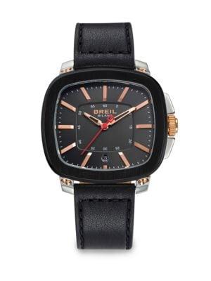 Three-Hand Stainless Steel Watch