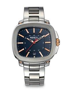 Breil - Three-Hand Stainless Steel Watch