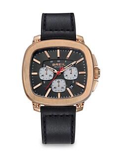 Breil - Rose Gold Chronograph Watch <br>