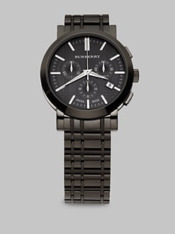 Burberry - Stainless Steel Chronograph