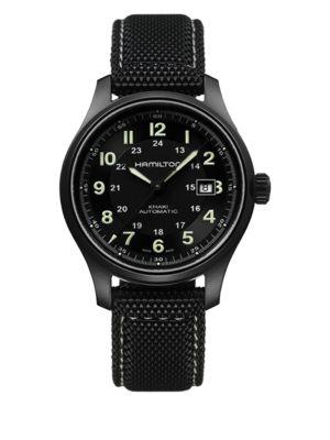 Khaki Field Titanium Watch