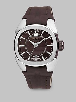 Breil - Stainless Steel Chronograph Strap Watch