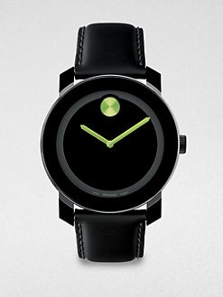 Movado - Large Bold Watch/Lime Green