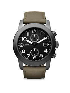 Marc by Marc Jacobs - Two-Eye Chronograph Watch