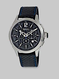 Breil - 939 Chronograph Watch/Blue Stitch