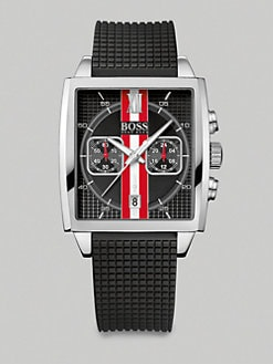 BOSS Black - Square Dial Chronograph Watch