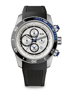 BOSS HUGO BOSS - Stainless Steel Chronograph Watch