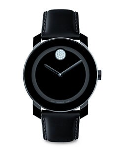 Movado - Large Bold Watch/Crystal Detail