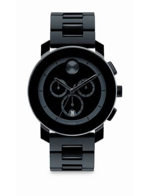 Bold Chronograph Watch/Bracelet