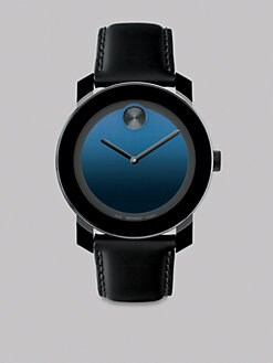 Movado - Large Bold Watch/Blue Face