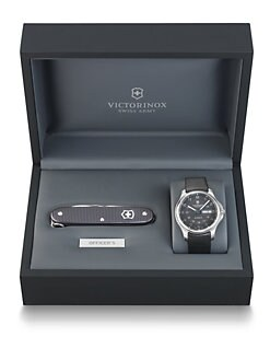 Victorinox Swiss Army - Officer's Watch & Knife Set