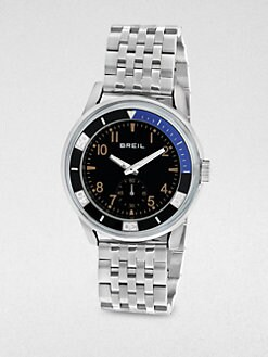 Breil - Miyota Multi-Function Stainless Steel Watch