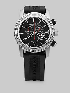 Burberry - Stainless Steel Chronograph Watch