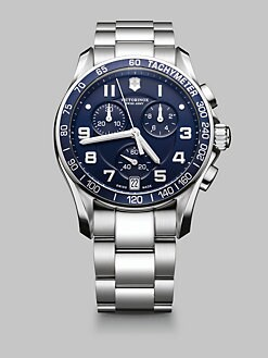 Victorinox Swiss Army - Chronograph Stainless Steel Watch