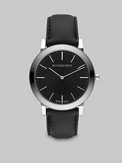 Burberry - Slim Classic Watch/Black