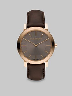 Burberry - Slim Classic Watch/Taupe