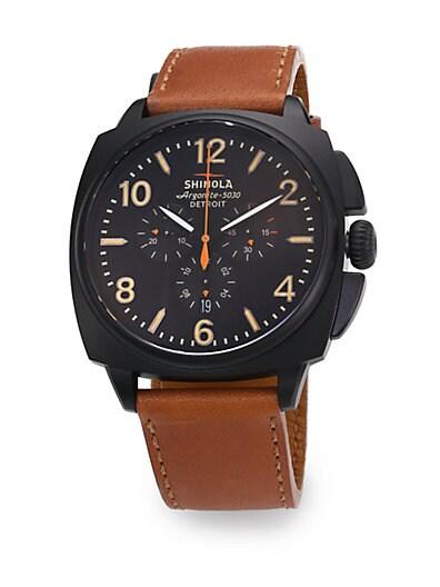 Brakeman Stainless Steel Chronograph Watch