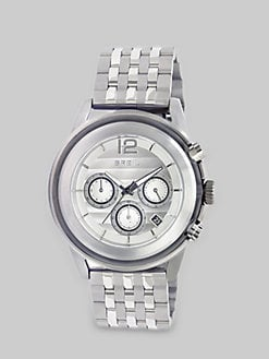 Breil - Stainless Steel Three-Chronograph Watch