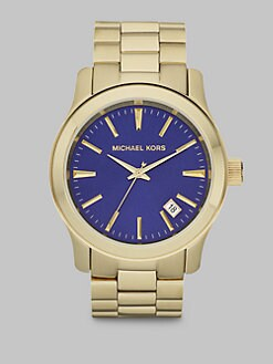 Michael Kors - Shiny Gold Stainless Steel Watch