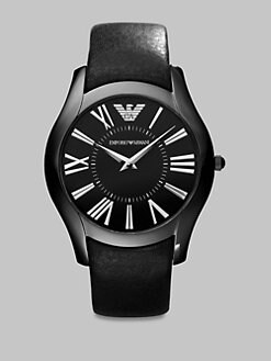 Emporio Armani - Slim Round Stainless Steel Watch