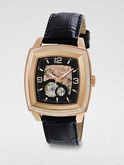 Breil - Automatic Rose Gold-Plated Watch