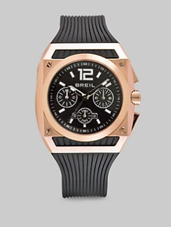 Breil - Square Stainless Steel Chronograph Watch