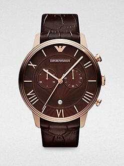 Emporio Armani - Two-Eye Chronograph Watch