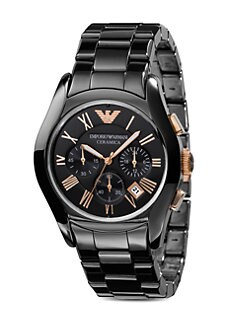 Emporio Armani - Ceramica Chronograph Watch