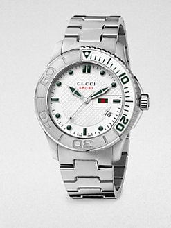 Gucci - G Timeless Collection Stainless Steel Watch