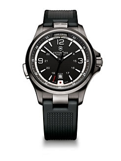 Victorinox Swiss Army - Night Vision Stainless Steel Watch