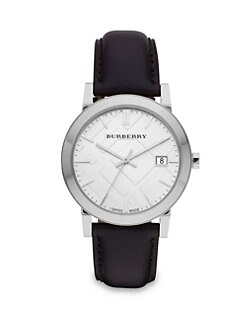 Burberry - Classic Leather Watch