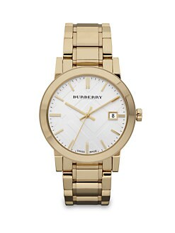 Burberry - Classic Stainless Steel Watch