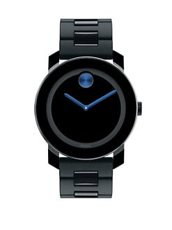 Movado - Large Bold Watch/Blue
