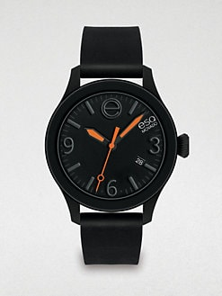 ESQ Movado - Silicone-Wrapped Stainless Steel Watch