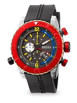 Brera Orologi - Sottomarino Stainless Steel Diver Watch