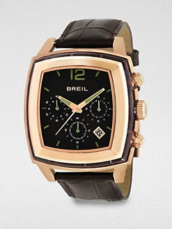 Breil - Rose Gold Plated Chronograph Watch